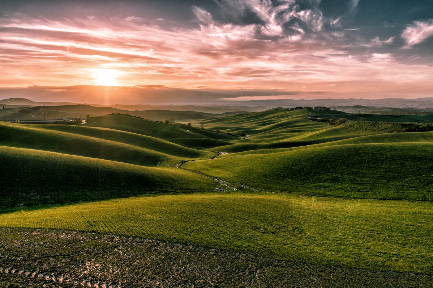 Photograph Yet another Tuscan Hills by Leonardo Acquisti on 500px