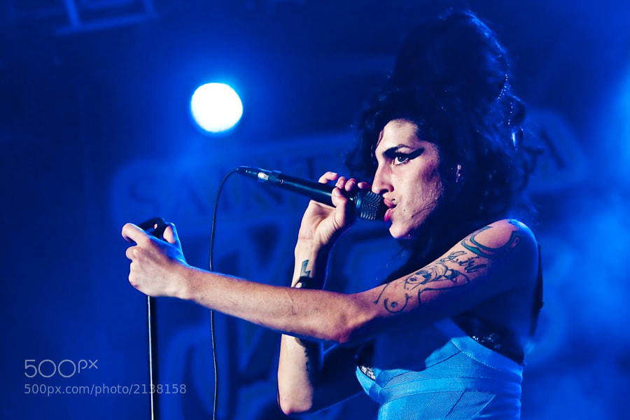 Photograph Amy Winehouse by Chris Huxley on 500px