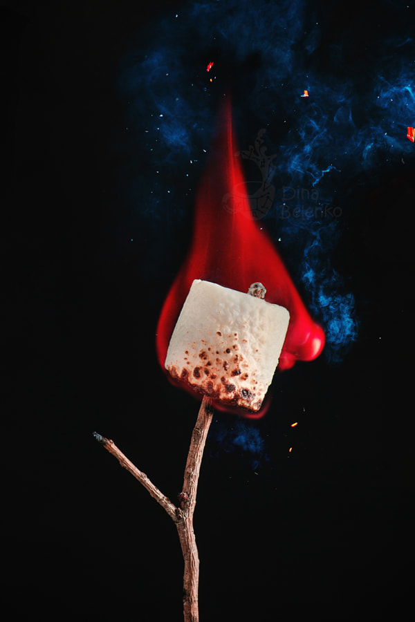 Happy roasted marshmallow by Dina Belenko on 500px.com