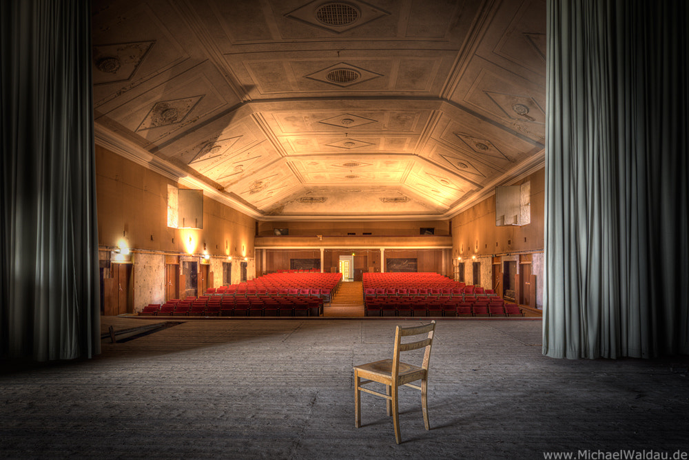 Photograph Forgotten theater (Part I) by Michael Waldau on 500px