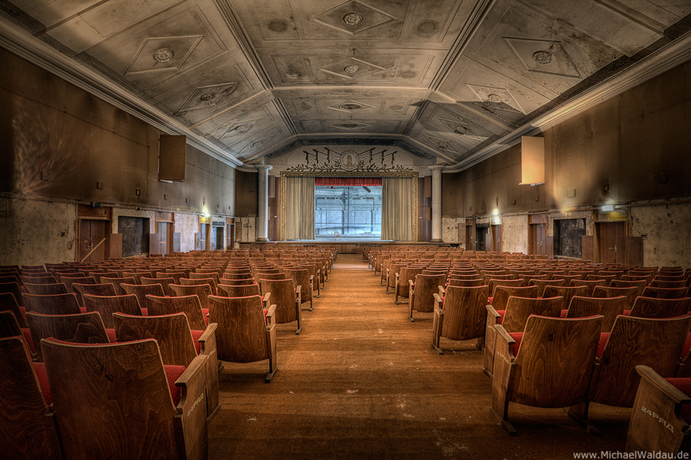 Photograph Forgotten theater (Part II) by Michael Waldau on 500px