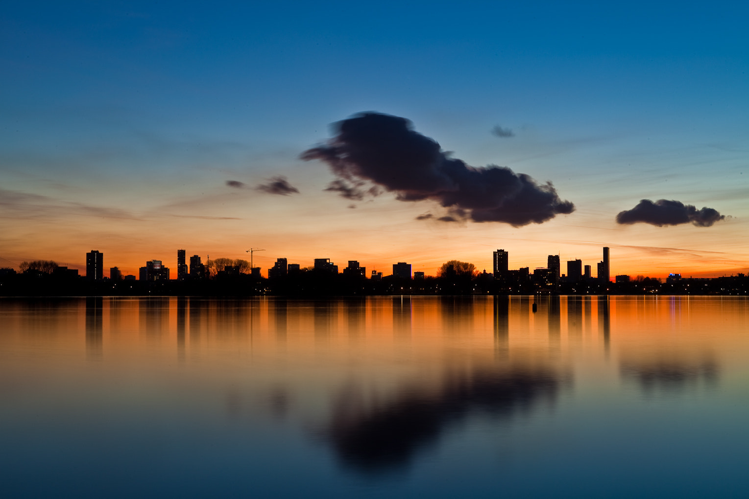 Photograph Rotterdam Skyline by Randy Ruijter on 500px