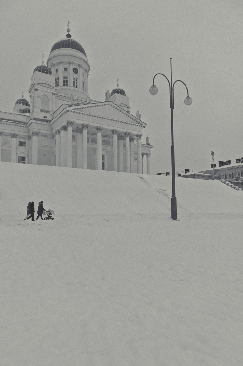 Photograph Finland white church by varadhan ganapathy on 500px