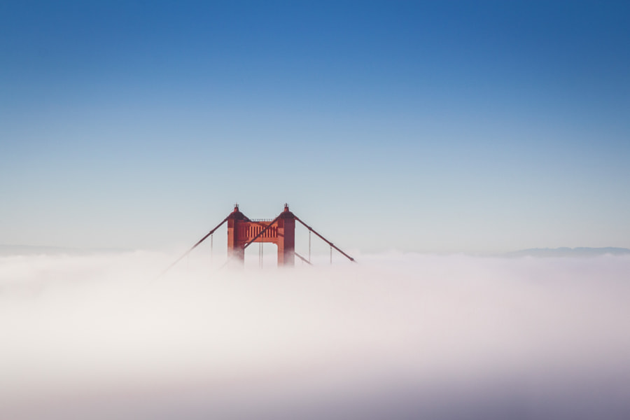 Golden Gate Bridge in the Fog by sam wirch on 500px.com