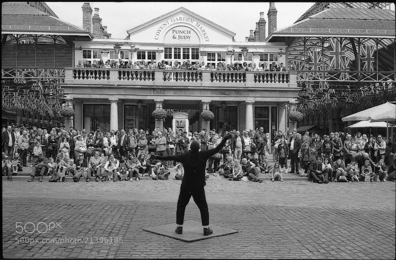 Photograph Performer in Covent Garden by Igor Rudenko on 500px