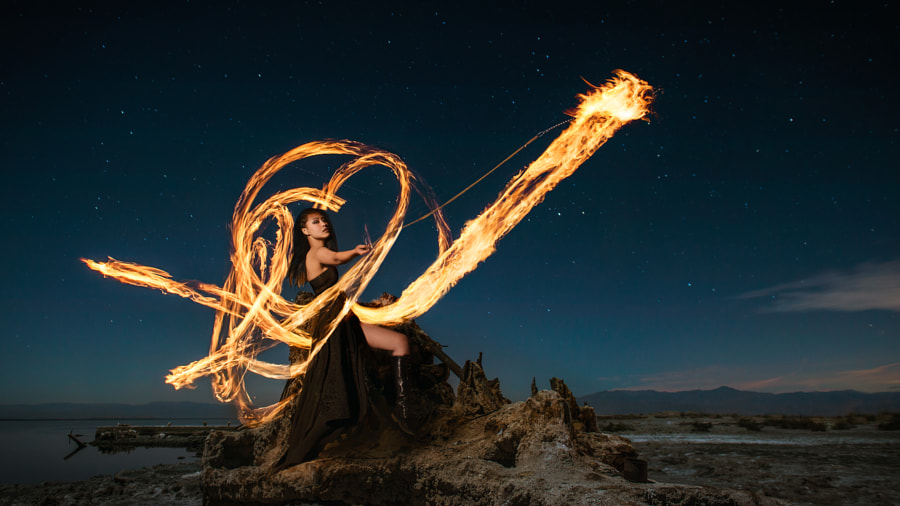 Love for Fire by Benjamin Von Wong on 500px.com