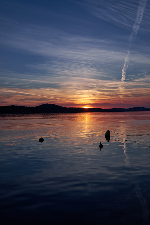 Sunset in Sibenik (Croatia)