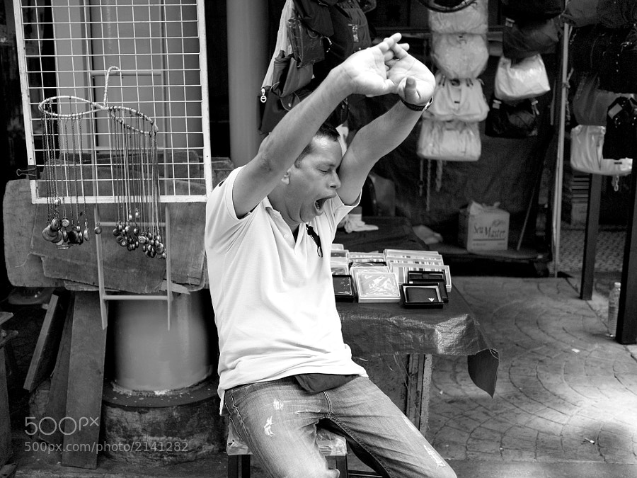 At China Town, Petaling Street, Kuala Lumpur, Malaysia.
