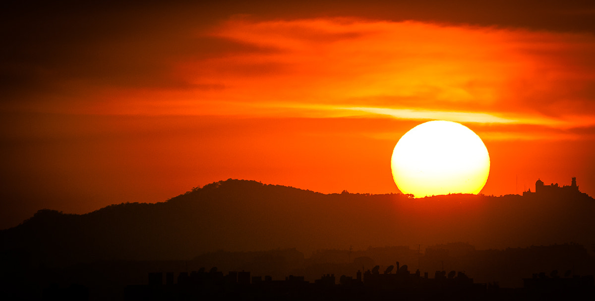 Photograph Sunset over Sintra by Nuno Trindade on 500px