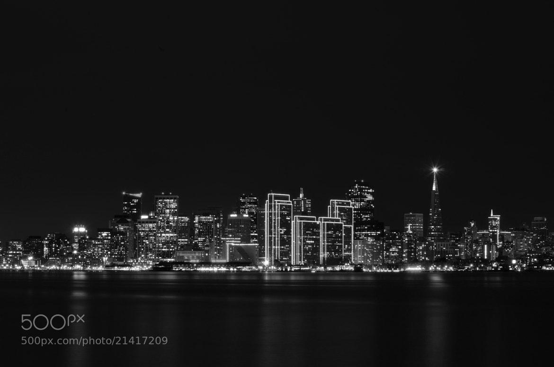 Photograph San Francisco - Downtown (Black & White) by Senthil Balakrishnan on 500px