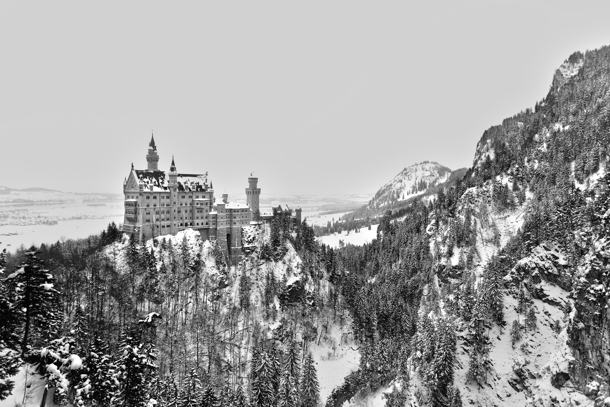 Photograph Winter in the Castle by Vito Grittani on 500px