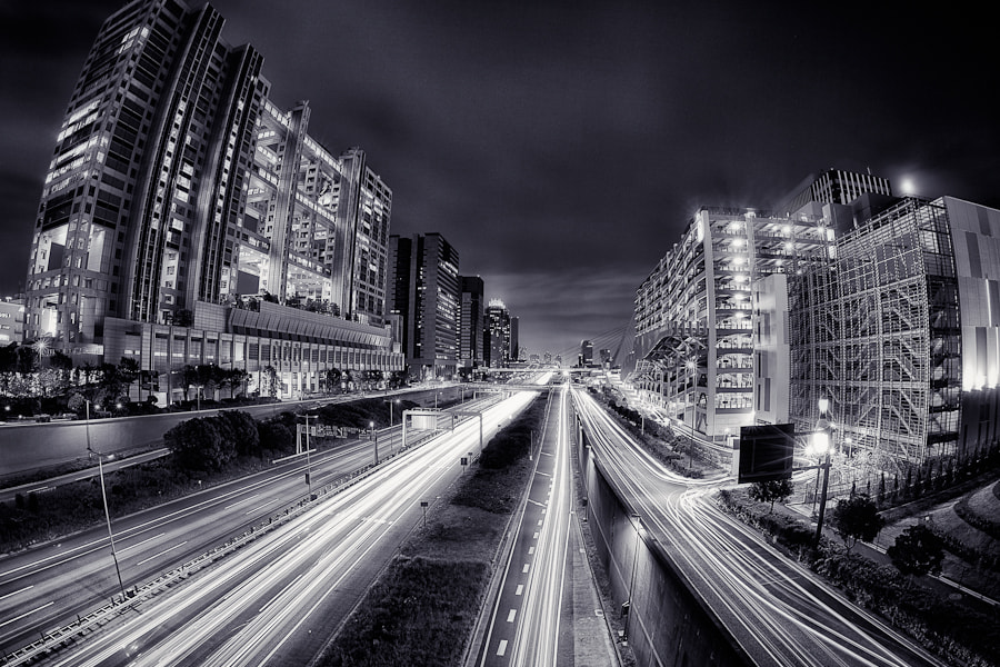 Photograph Odaiba Highways by Loic Labranche on 500px