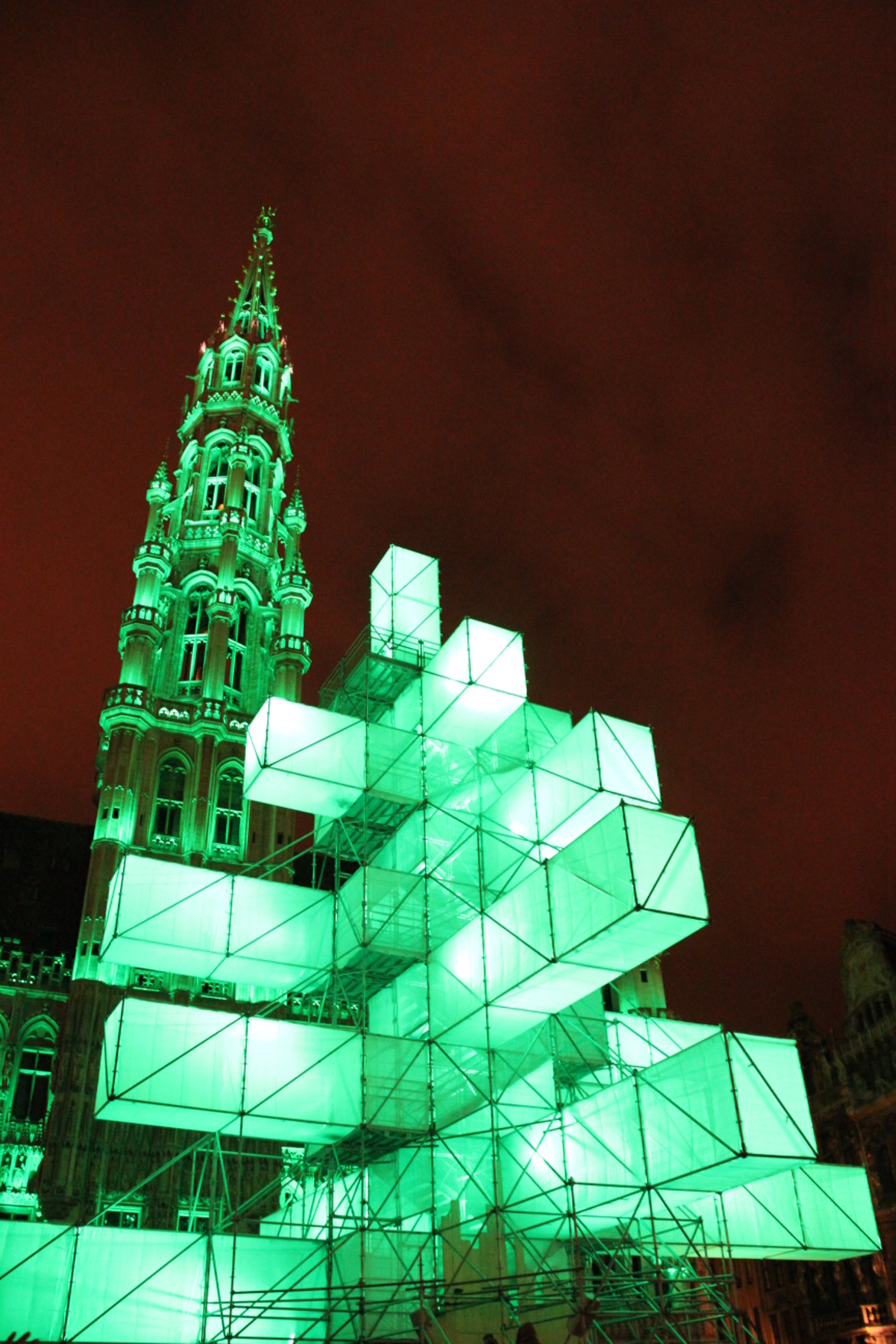 Photograph Belgium's Main Christmas Tree by Katja Sen on 500px