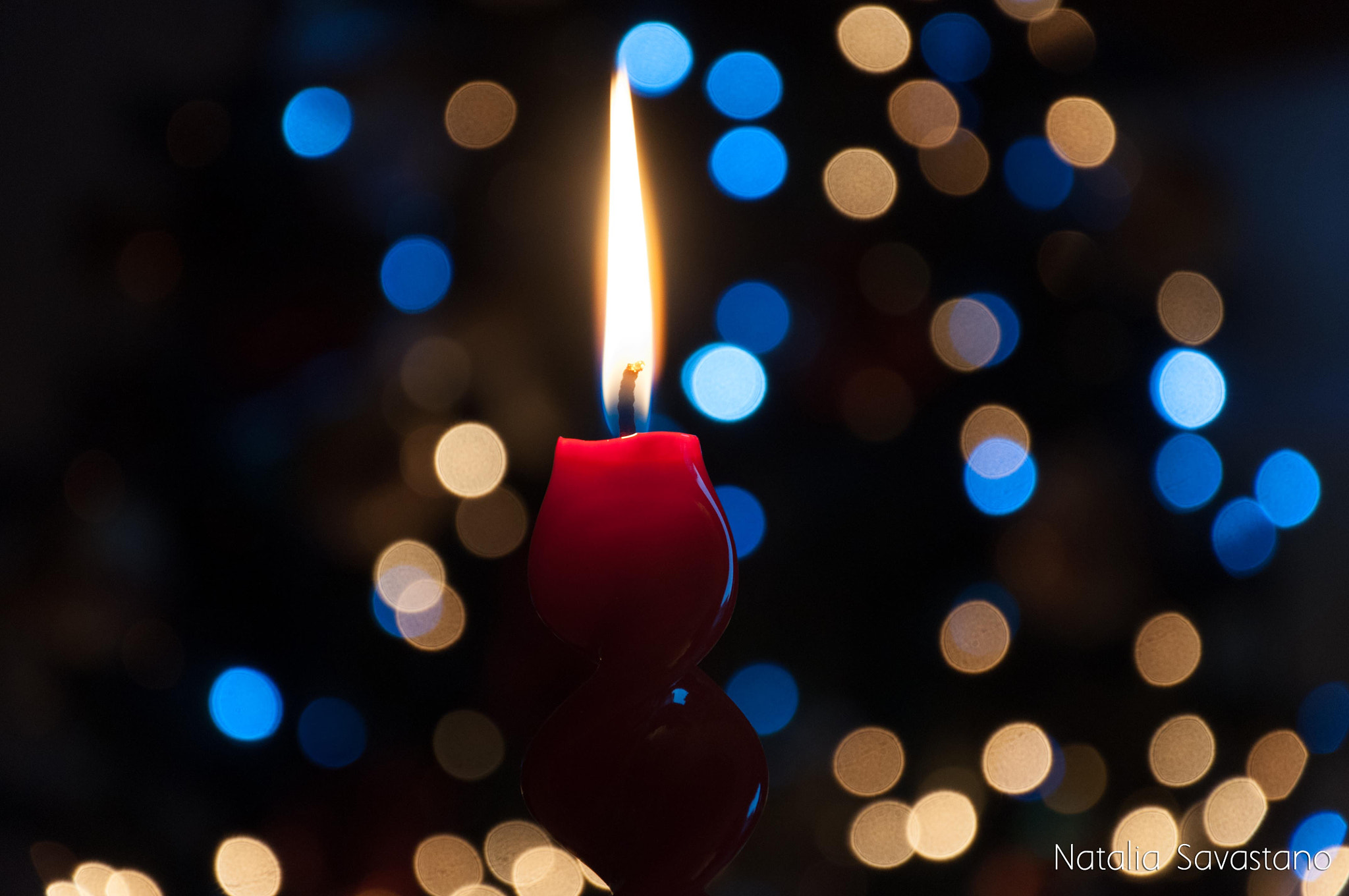Photograph Red Candle in the Christmas Night 2 by Natalia Savastano on 500px