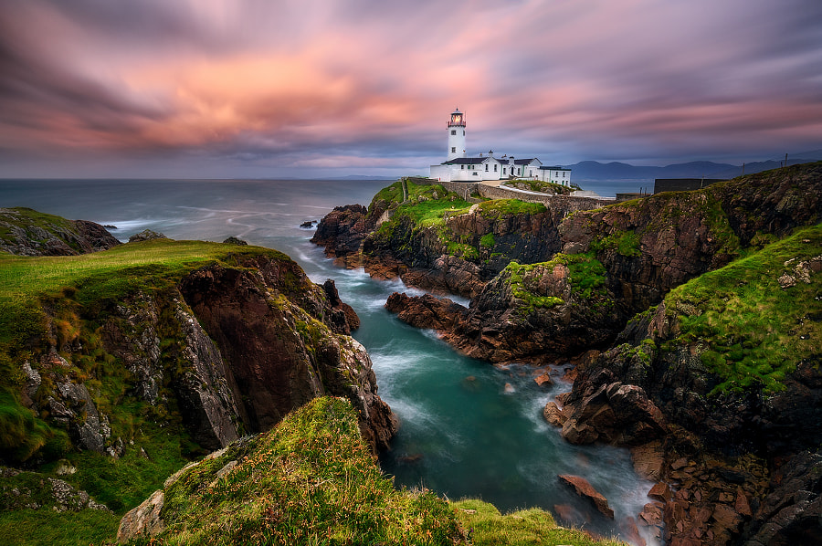 Fanad Head Sunset by Daniel F. on 500px.com