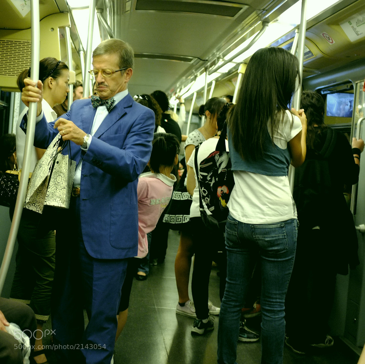 Photograph The Underground Gentleman by Fabio Salmoirago on 500px