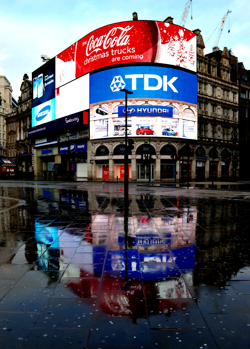 Photograph Piccadilly Circus 1 by Ben Jenko on 500px