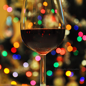 Bokeh wine by Ann T (fotografka)) on 500px.com