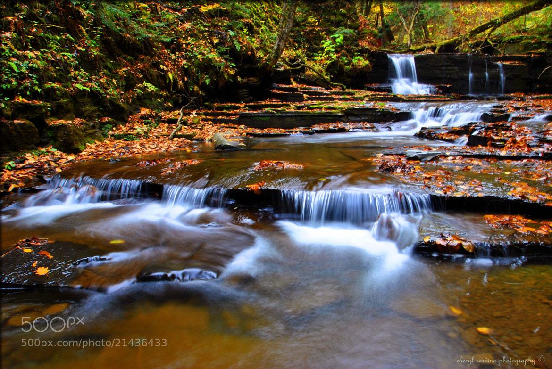 Photograph Hidden Falls by cheryl rendino on 500px