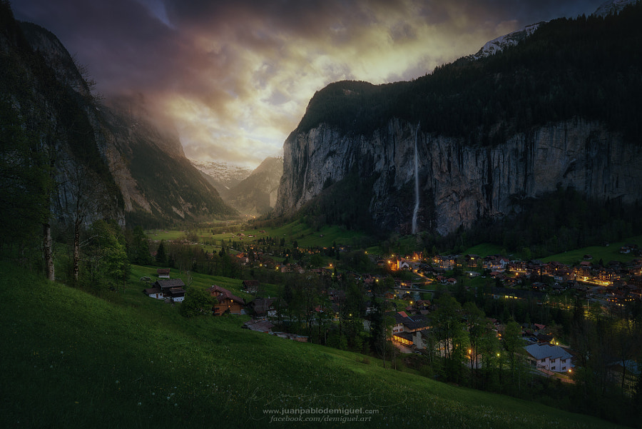 Lauterbrunnen on light by Juan Pablo de Miguel on 500px.com