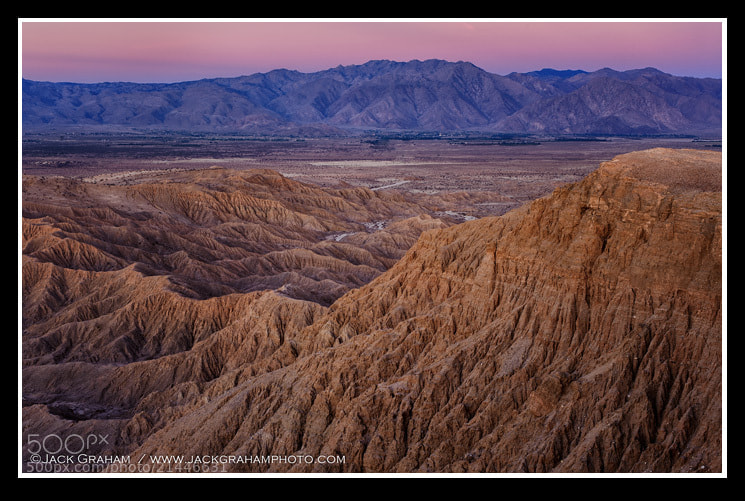 Sunrise in Anza Borrego, California , USA