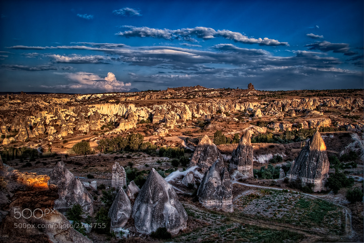Photograph Fairy chimneys at sunset by Giuseppe Maria Galasso on 500px