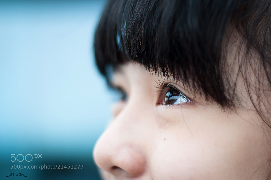 Photograph just looking in your eye.. by Le  Tuan on 500px