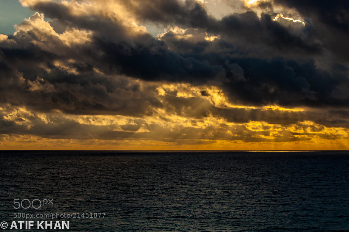 Photograph Sunrise in Caribbean - II by Atif Khan on 500px