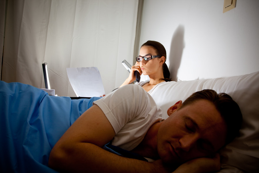 Modern Workaholic Couple by Razvan Chisu on 500px.com