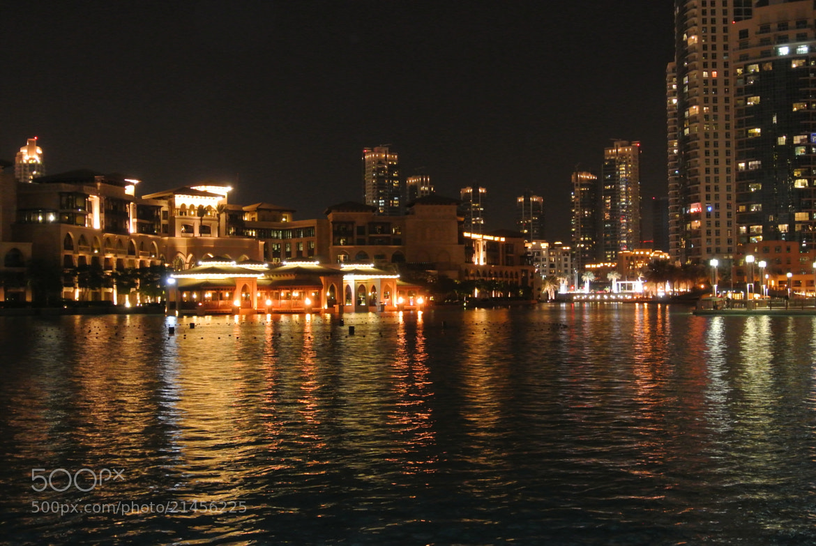 Photograph Dubai Mall Waterway at night by Jenny Jones on 500px