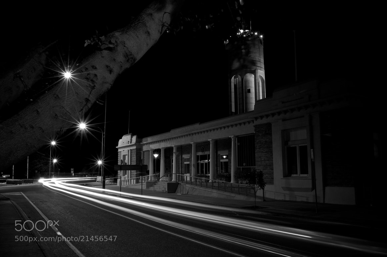 Photograph Chambers at Night by David Freeman on 500px