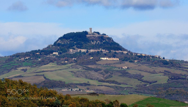 Photograph Radicofani and its fortress. by Renato Pantini on 500px