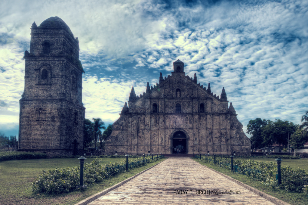 Photograph Paoay Church by Jon Soriano on 500px