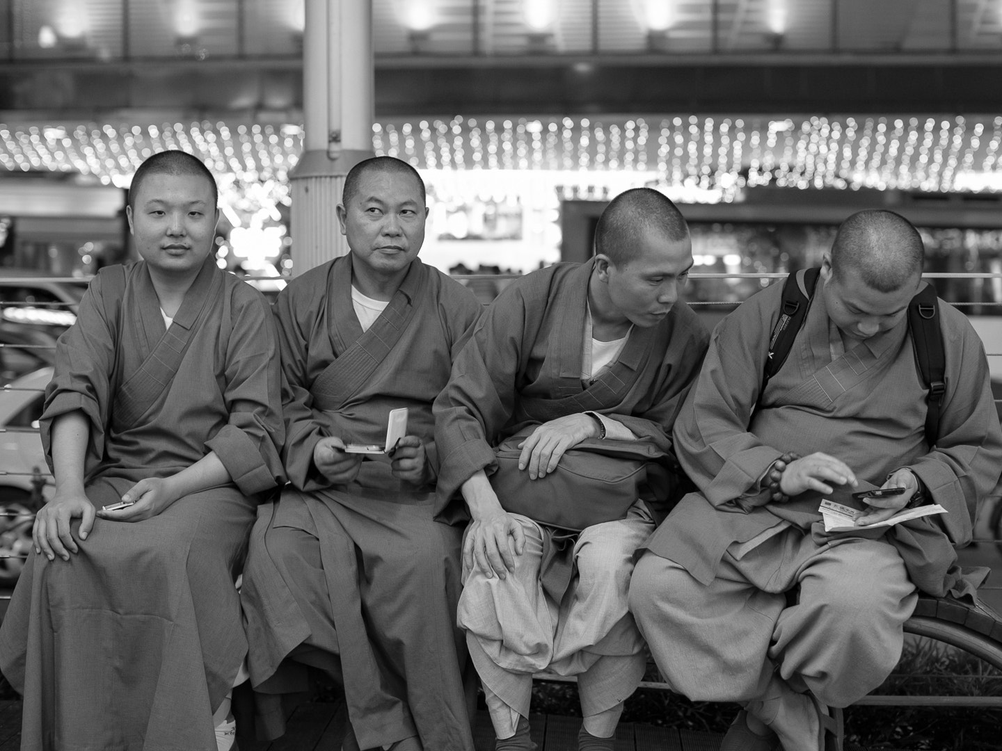 Photograph Monks by Marc Lim on 500px