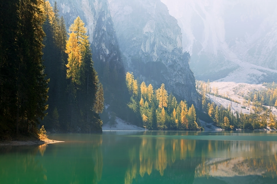 Photograph Lago di Braies by Daniel Řeřicha on 500px