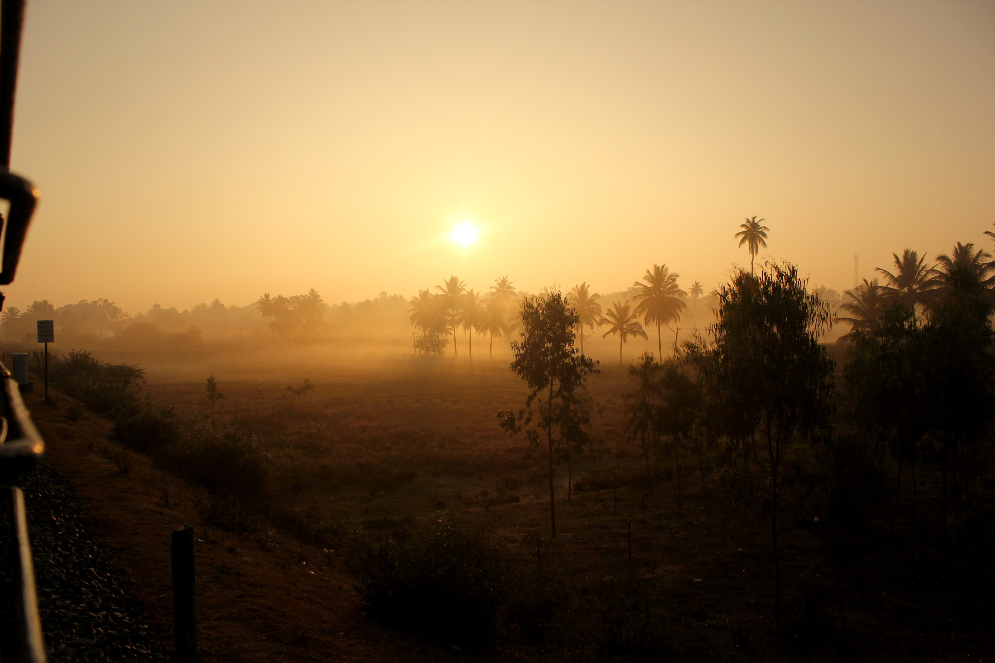Photograph When the sun takes guard from the Mist. by Shiv Kalappa on 500px