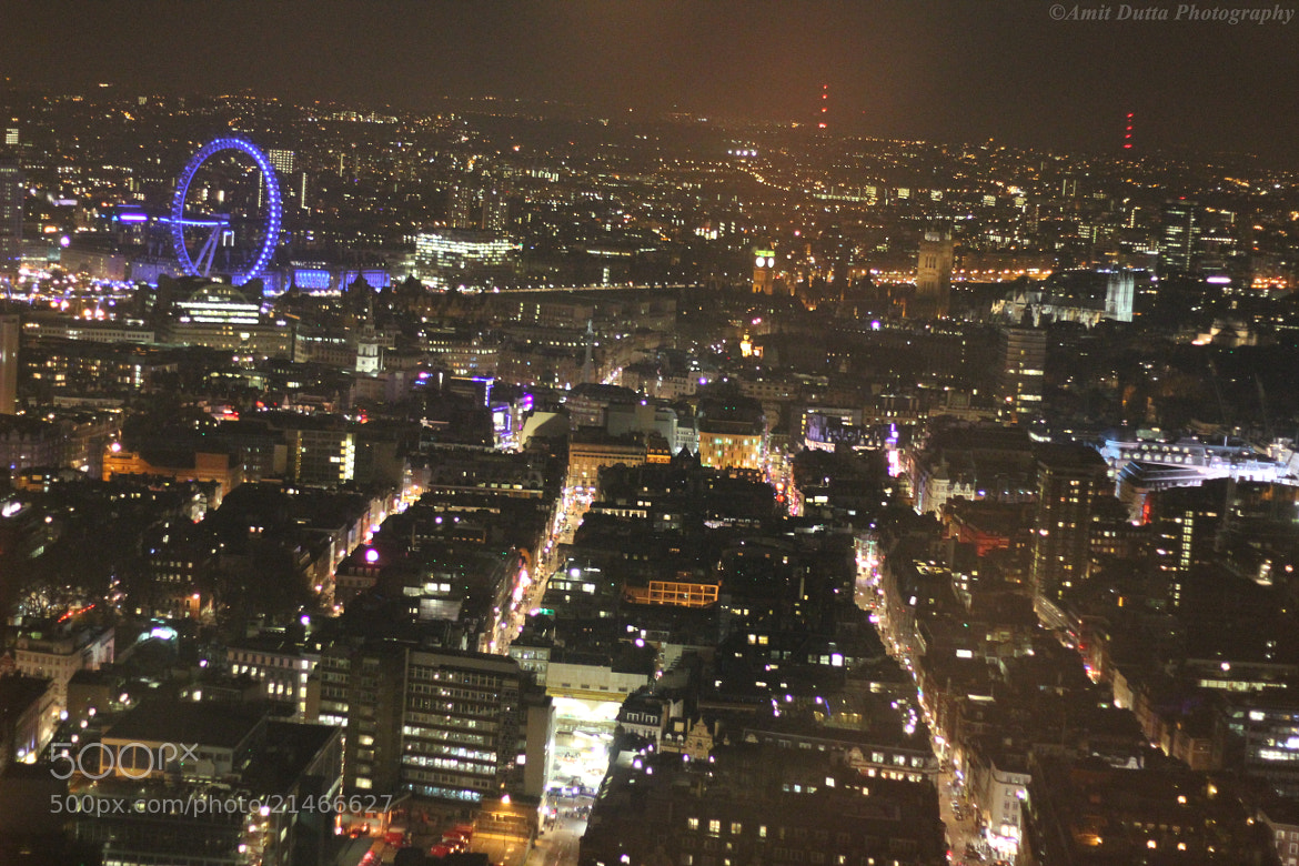 Photograph London  by night by Amit Dutta on 500px