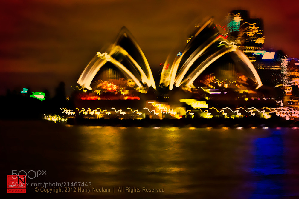 Photograph Sydney Opera House - Abstract (deliberate) by Harry Neelam on 500px
