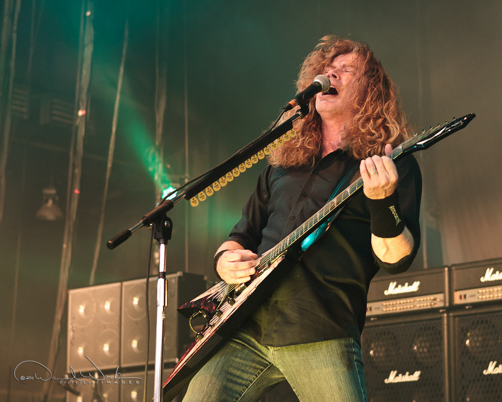 Photograph Dave Mustaine - Megadeth by Daniel Work on 500px