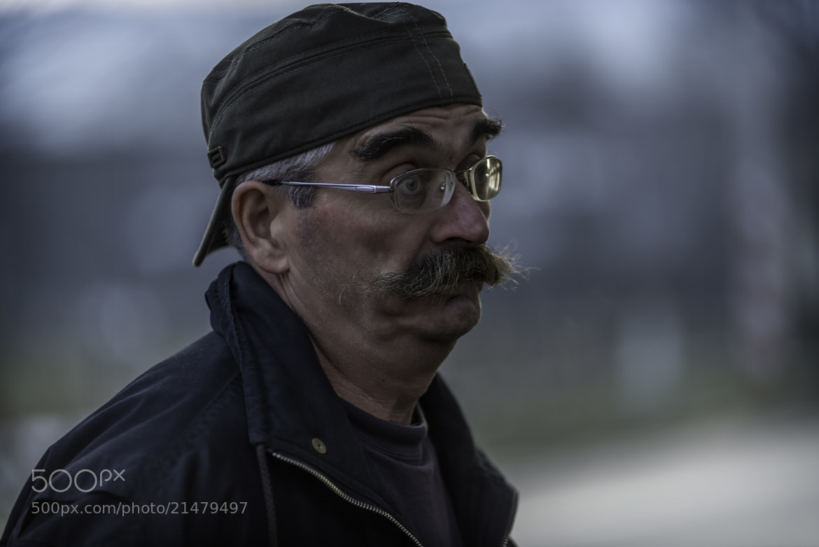 Photograph Storyteller with mustache by Sorin Markus on 500px