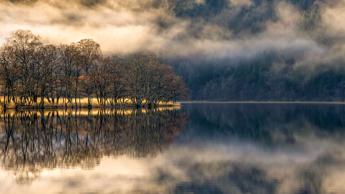 Photograph Loch Chon Winter Light... by David Mould on 500px