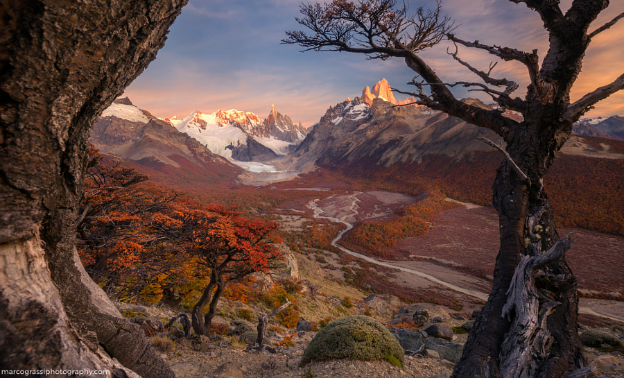 Patagonia awakes by Marco Grassi on 500px.com