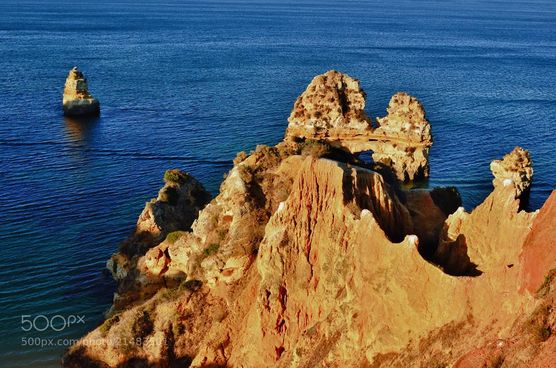 Photograph Rocks of Algarve by Csilla Zelko on 500px