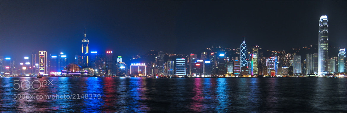 Photograph Hong Kong Cityscape Panorama by Raymond Lee on 500px