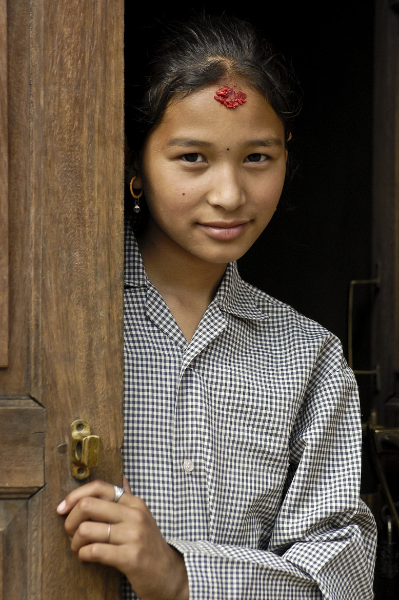 Photograph Nepali girl by Konstantinos Arvanitopoulos on 500px