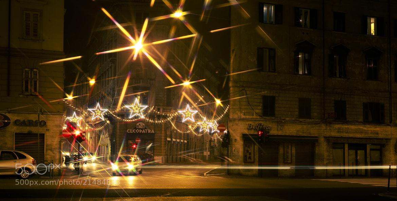 Photograph Street of Stars by Jure Batagelj on 500px