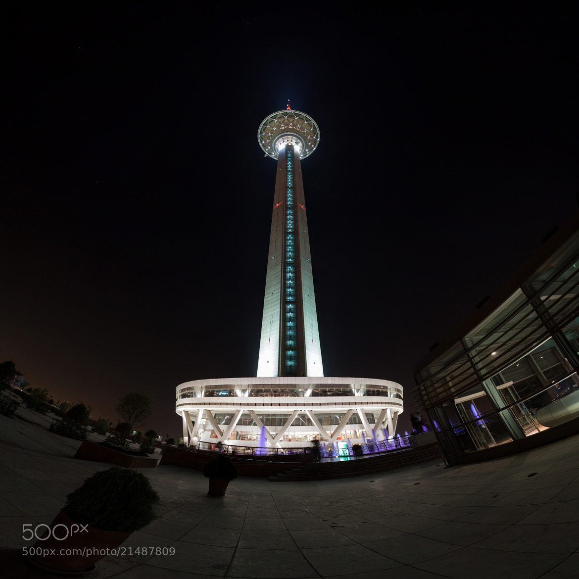 Photograph Milad Tower, Tehran by Aryan Amoli on 500px