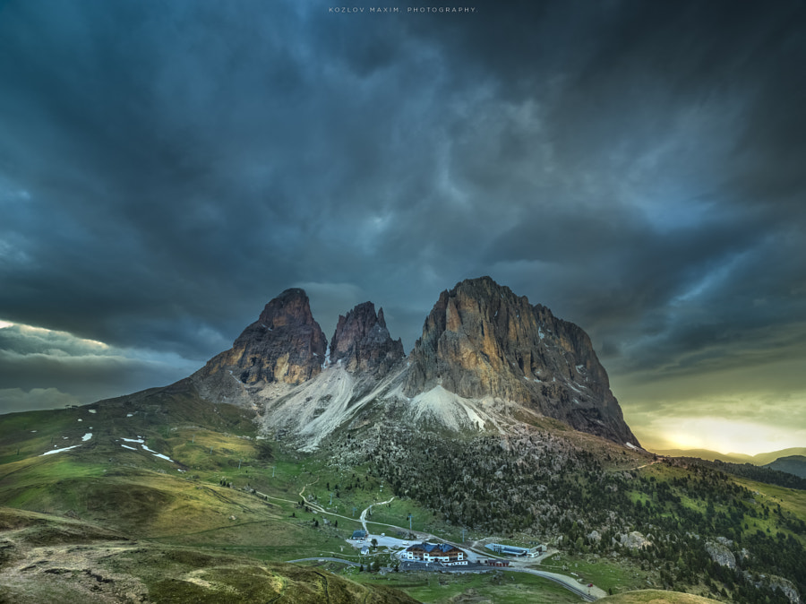 Passo Sella. Dolomites. by Maxim K. on 500px.com
