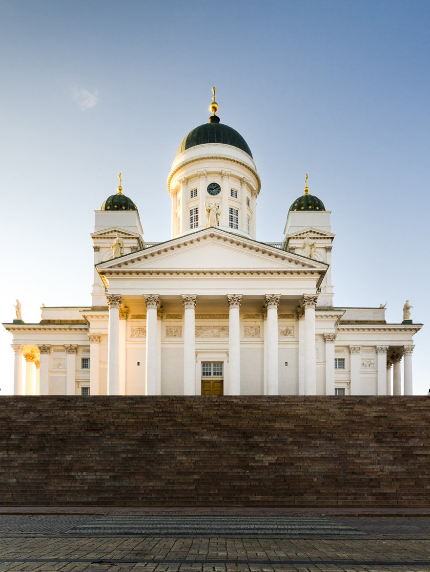 Photograph Helsinki Cathedral at sundown by John C. on 500px