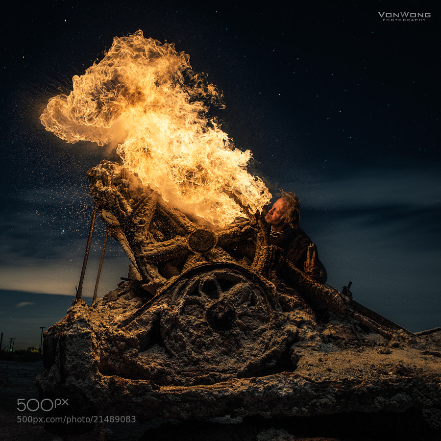 Fire Cannon by Benjamin Von Wong (vonwong)) on 500px.com